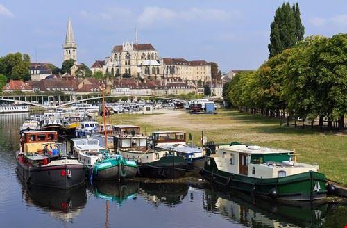 Auxerre en France