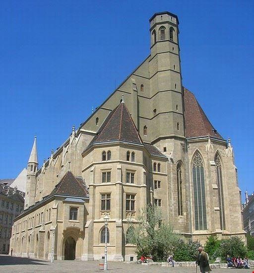 vienne minoritenkirche eglise des minorites a vienne