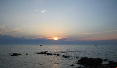 Torre Mileto al tramonto