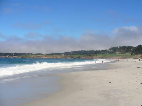 Carmel by the sea: one mile beach