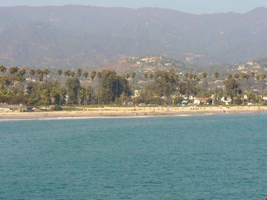 la lunga spiaggia santa barbara