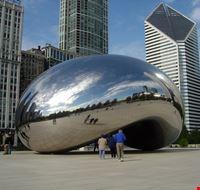 chicago millennium park palla ovale