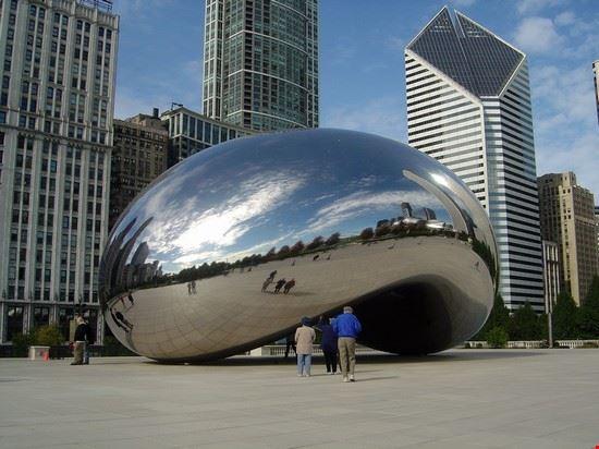 41427 chicago millennium park palla ovale