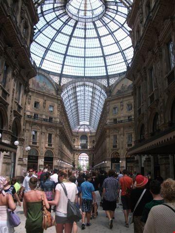 Foto Galleria Vittorio Emanuele Ii Interno A Milano