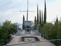 l incrociatore puglia al vittoriale gardone riviera