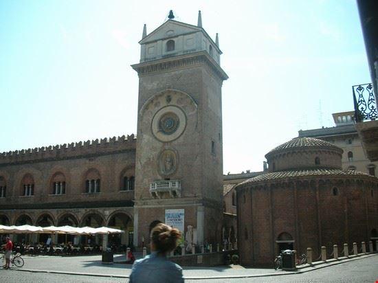torre dell'orologio e rotonda di san lorenzo