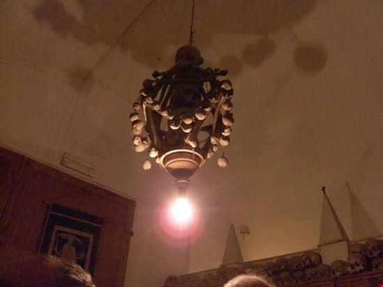 lampadario , particolare