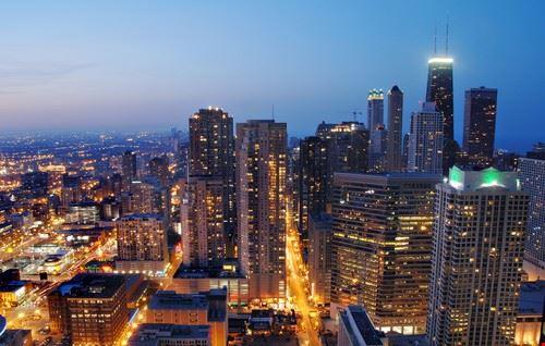 41636 chicago quartier du loop a chicago