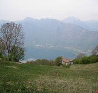 Lago d'Idro visto da Bondone