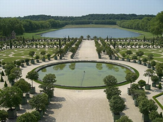 Foto i giardini di versaille a parigi autore roberta