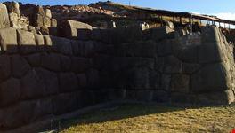 particolare della fortezza cuzco