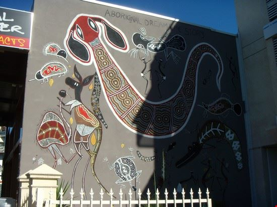dipinti murali aborigeni cairns