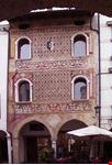 Facciata medievale in Corso Vittorio