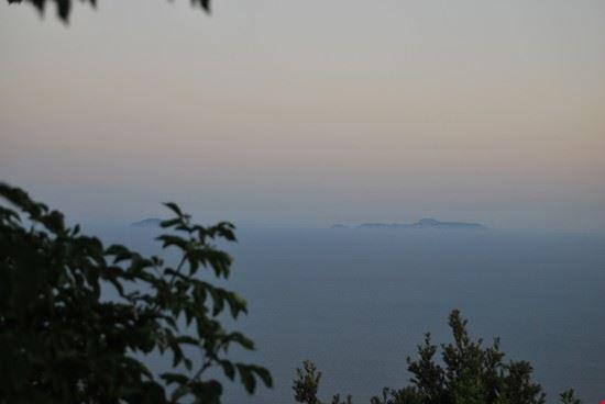 Panorama dal Parco Nazionale del Circeo
