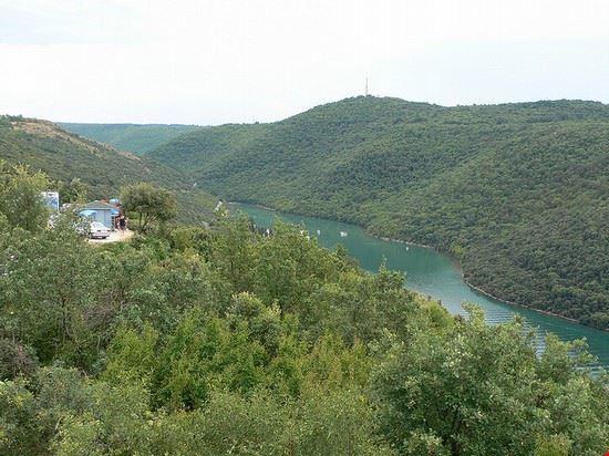 rovinj limski kanal in istrien kroatien