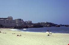 la spiaggia biarritz