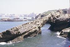 scogliera biarritz
