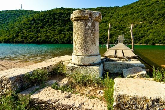 rovinj limski kanal in kroatien