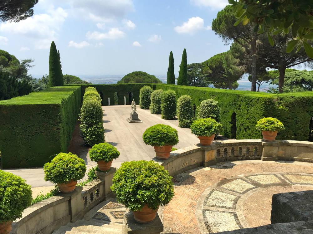 Foto giardini vaticani a castel gandolfo 1000x750 for Giardini immagini