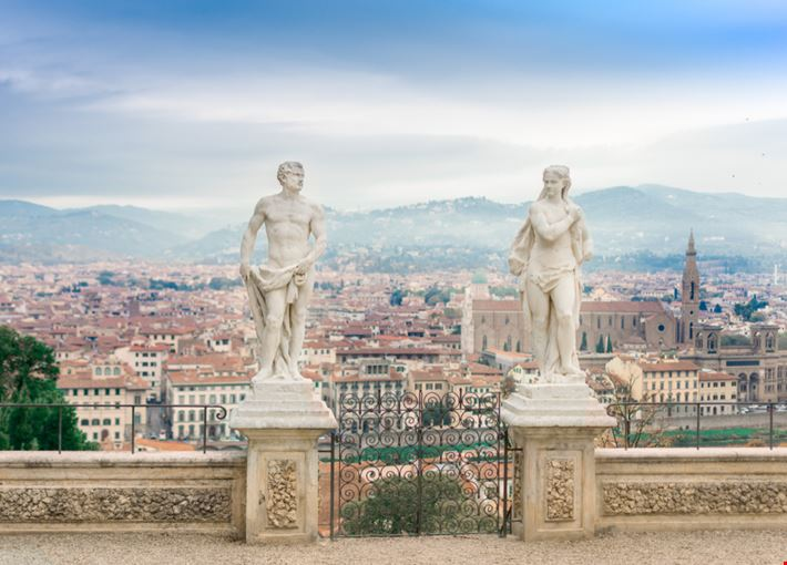 Firenze: Giardino Bardini