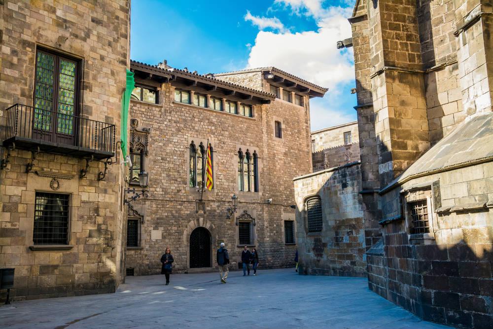 Quartiere gotico barcellona for Villaggi vacanze barcellona