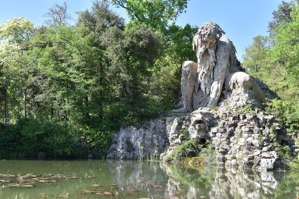 Il parco di Villa Demidoff
