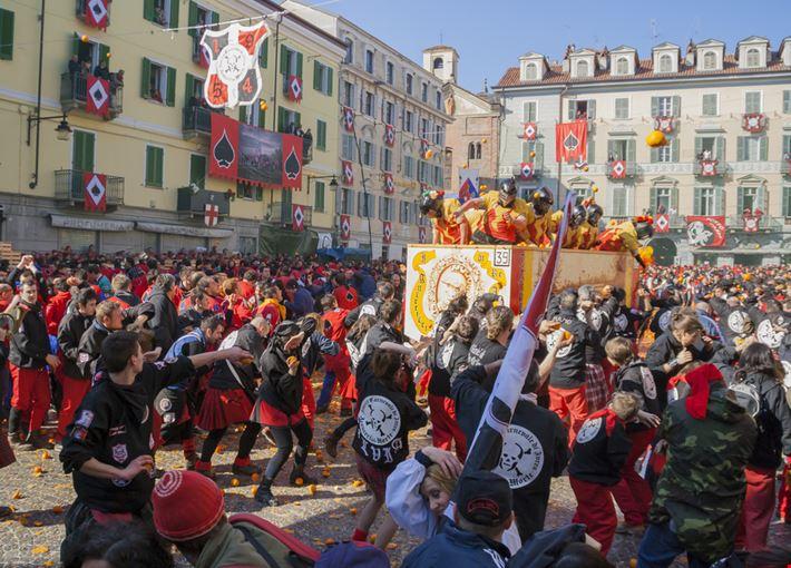 Carnevale a Ivrea