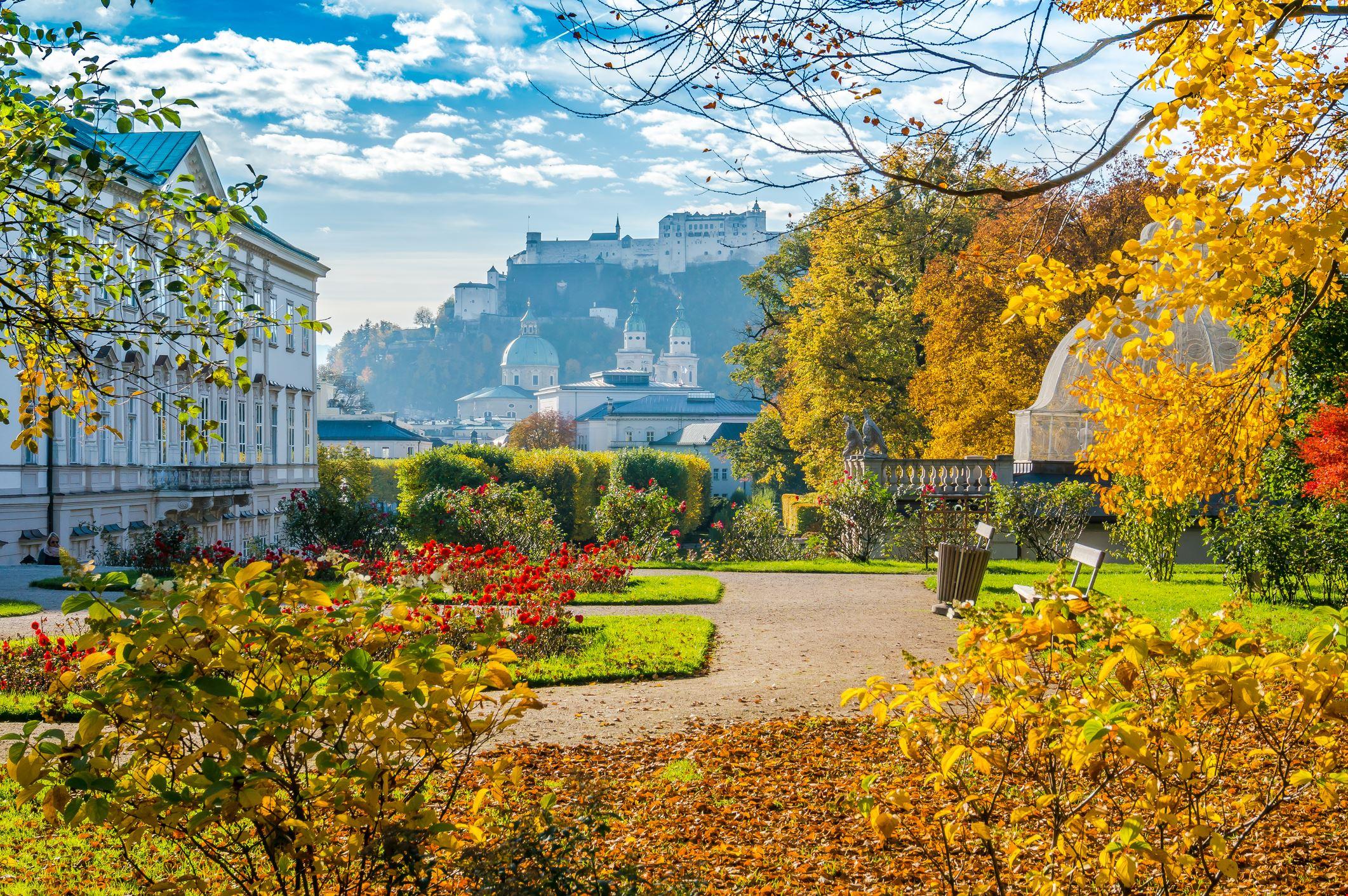 Giardini del castello di Mirabell