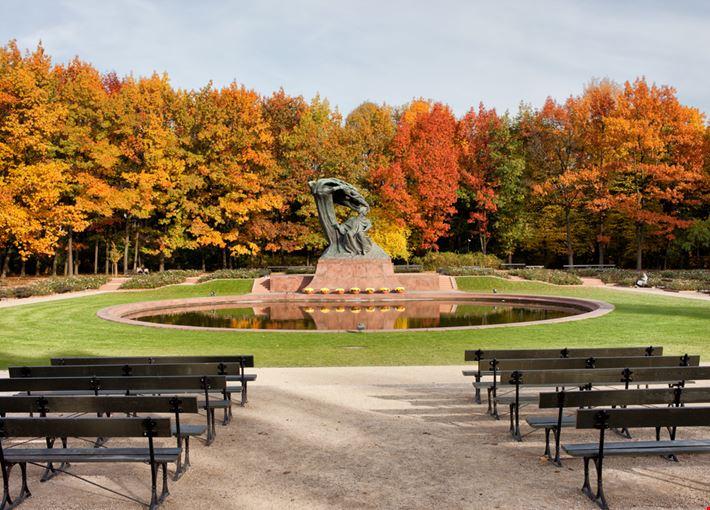 Lazienki Królewskie Park