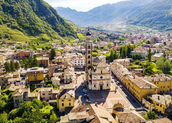 La Basilica della Madonna di Tirano