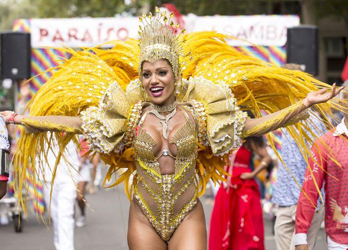 Ballerina del Carnevale di Notting Hill