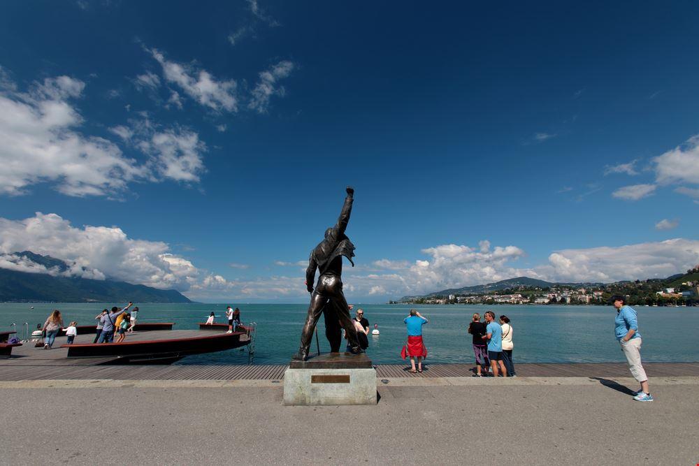 Statua di Freddie Mercury