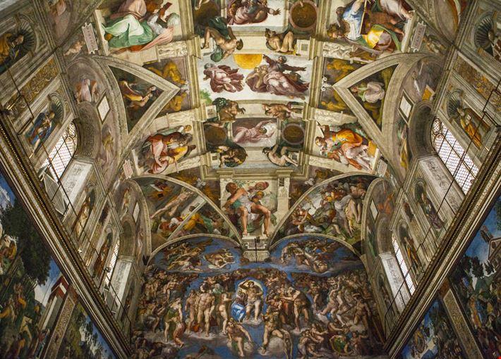 Foto cappella sistina a roma info for Decorazione quattrocentesca della cappella sistina