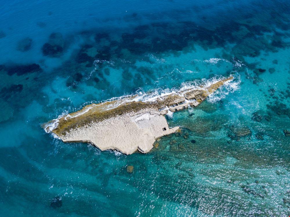 Spiaggia di S. Irene e Scoglio della Galera