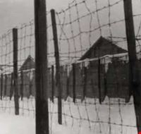 424012009190217 Exterior view of Fossoli concentration camp, Italy (1944)