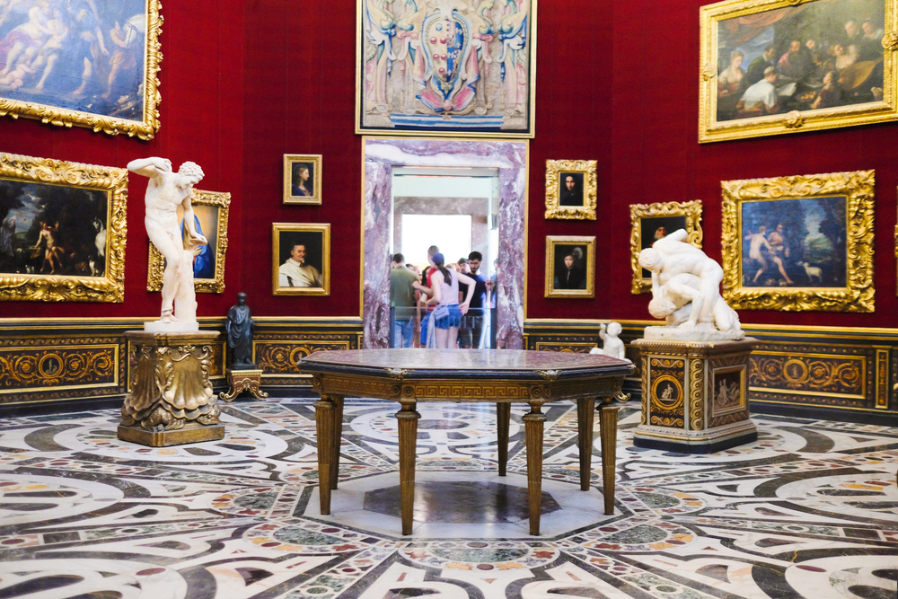 Galerie des offices florence mus es - Musee des offices florence visite virtuelle ...