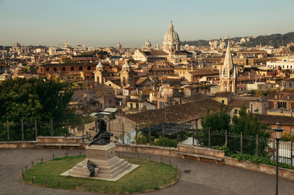 Pincio, Roma