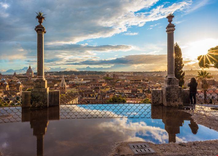 Il Pincio Parchi E Giardini A Roma