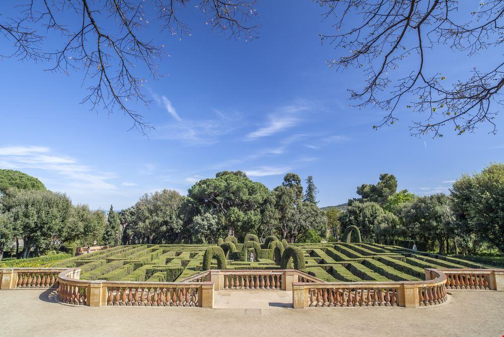 Jardins del Laberint d'Horta