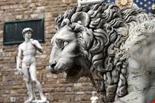 firenze david di michelangelo e leone
