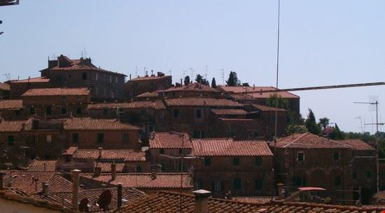 Veduta del borgo