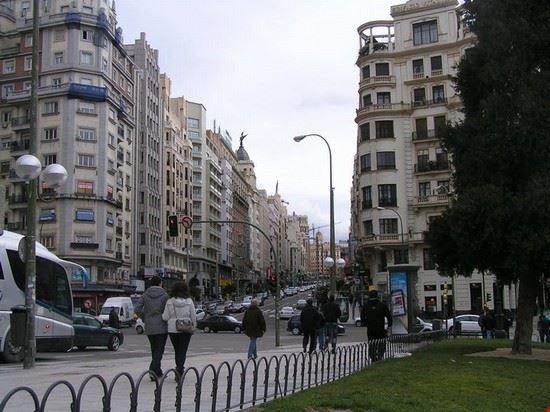 Calle Del Arenal Stadtviertel Von Madrid