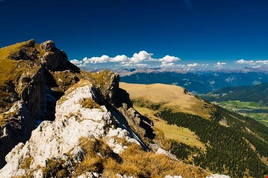 Gebirge über Sankt Ulrich