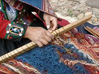Traditional weaving techniques