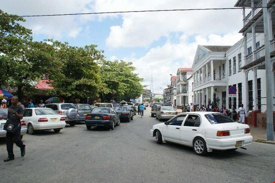 Waterkant, Suriname