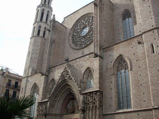 43323 chiesa di santa maria del mar barcellona