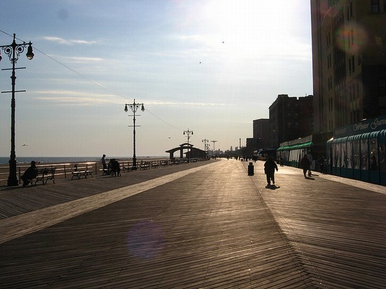 Photo Brighton Beach In New York Pictures And Images Of