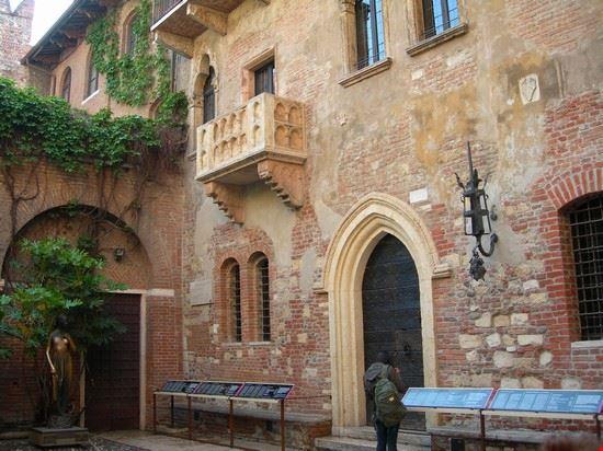 Balkon Der Julia Denkmaler Und Monumente In Verona