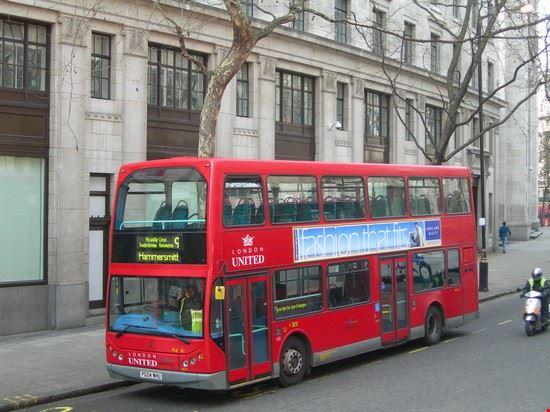 43807 bus londra