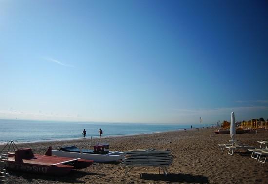 Foto la lunghissima spiaggia a porto sant 39 elpidio - Ristorante il giardino porto sant elpidio ...